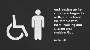 Acts 3:8 [widescreen]